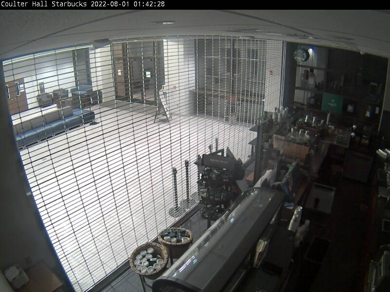 Starbucks webcam image