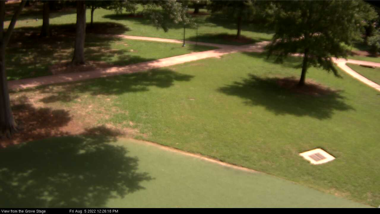 Grove webcam image